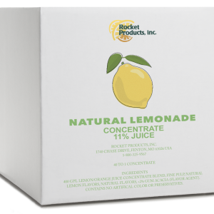 Natural Lemonade 11%